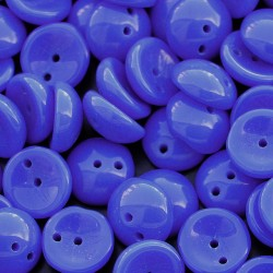 Mărgele presate Piggy 4x8mm 33100 opaque blue