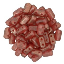 Mărgele Bricks 3x6mm. 29256 halo-cardinal