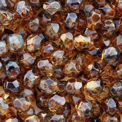 Mărgele Fire Polish 4mm T00030 crystal Picasso