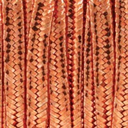 Şnur soutache celofibră 1200 copper metallic