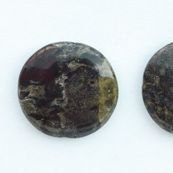 Dragon blood jasper 30mm rotund