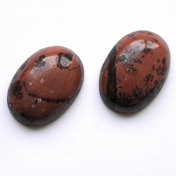 Crazy horse stone 30x22mm. oval