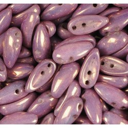 Mărgele Chilli 4x11mm. 02010-15726 purple Vega alabaster