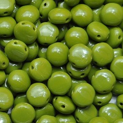 Mărgele Candy 8mm. 53420 opaque olive