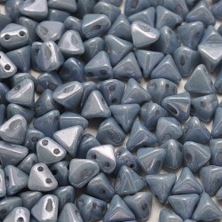 Mărgele Super Kheops par Puca 6mm. 03000-14464 opaque blue ceramic