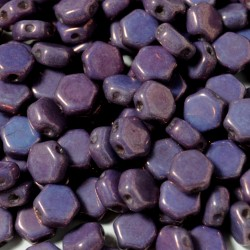 Mărgele Honeycomb 6mm. 03000-15726 purple vega