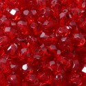 Mărgele Fire Polish 6mm 90090 siam ruby